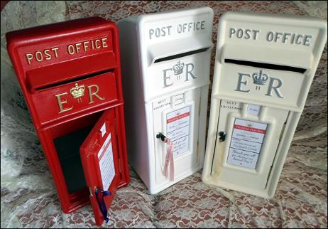 Truly Scrumptious – Post Boxes for Wedding Cards